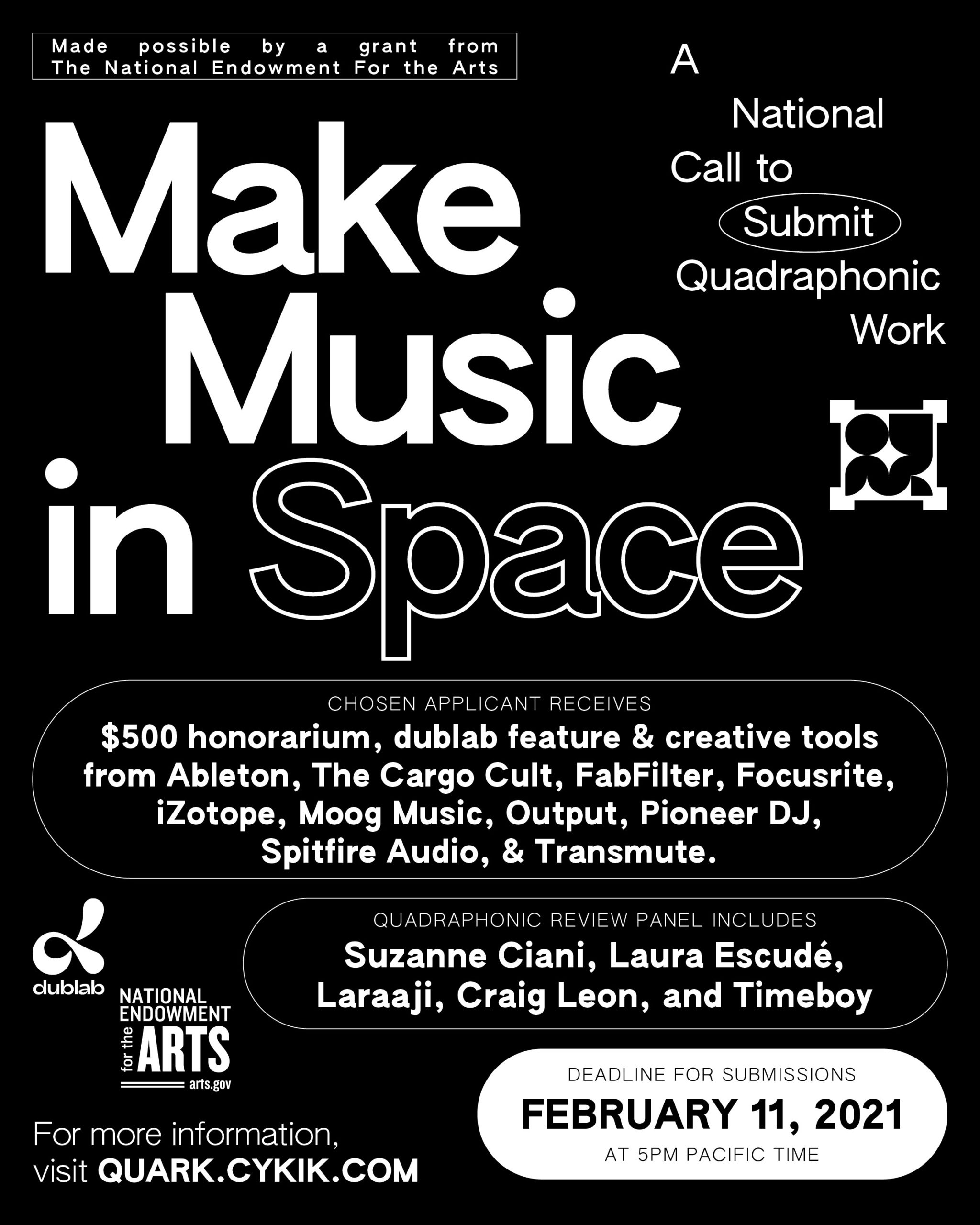 Make Music in Space